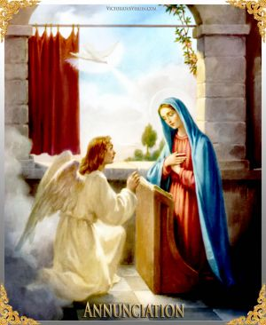 002 How To Pray The Rosary 1st JOYFUL Mystery - ANNUNCIATION