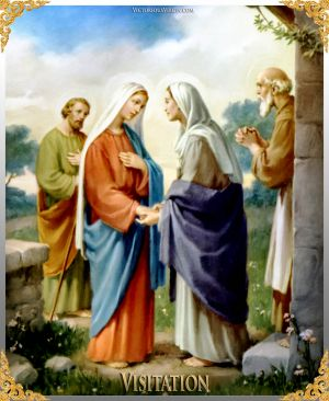 003 How To Pray The Rosary 2nd JOYFUL Mystery - VISITATION