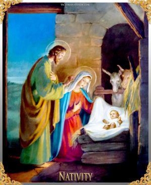 004 How To Pray The Rosary 3rd JOYFUL Mystery - NATIVITY