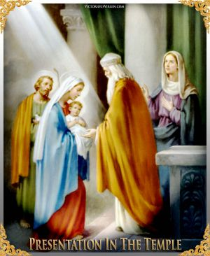 005 How To Pray The Rosary 4th JOYFUL Mystery - PRESENTATION