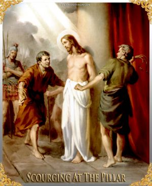 009 How To Pray The Rosary 2nd SORROWFUL Mystery - SCOURGING AT THE PILLAR