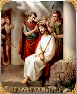 010 How To Pray The Rosary 3rd SORROWFUL Mystery - CROWNING WITH THORNS