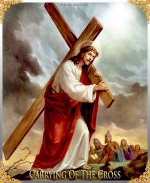 011 How To Pray The Rosary 4th SORROWFUL Mystery - CARRYING OF THE CROSS
