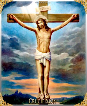 012 How To Pray The Rosary 5th SORROWFUL Mystery - CRUCIFIXION